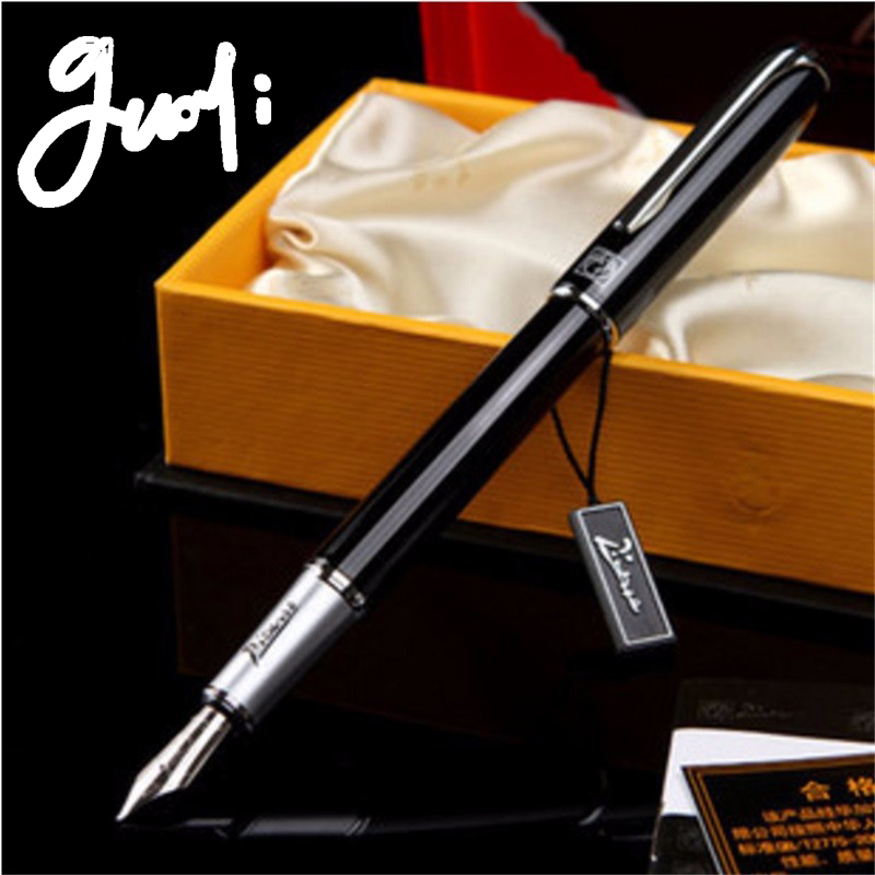 Guoyi 916 fountain pen. Ink pen. Office stationery.  0.5mm nib. High-end pen. Boutique gift packaging italic nib art fountain pen arabic calligraphy black pen line width 1 1mm to 3 0mm