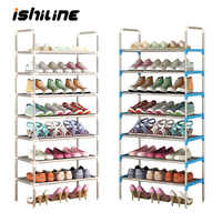 Multifunctional 2-7 Tier Shoe Racks Shelf Cabinet Large Stackable Shelves Holds Shelf for Shoe Book Home Storage Organizer