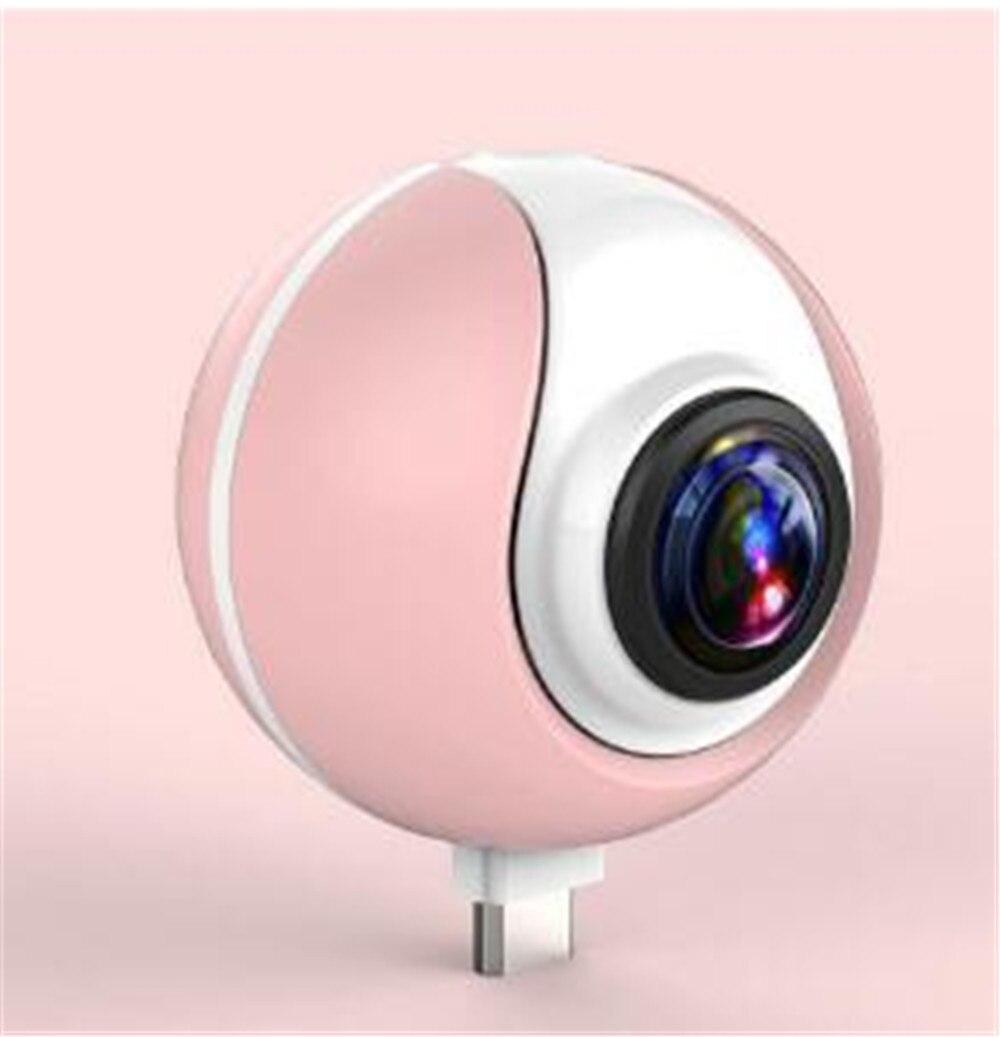 Caméra IP 360 P de Vision nocturne d'angle de vue de 1080 degrés pour le téléphone portable