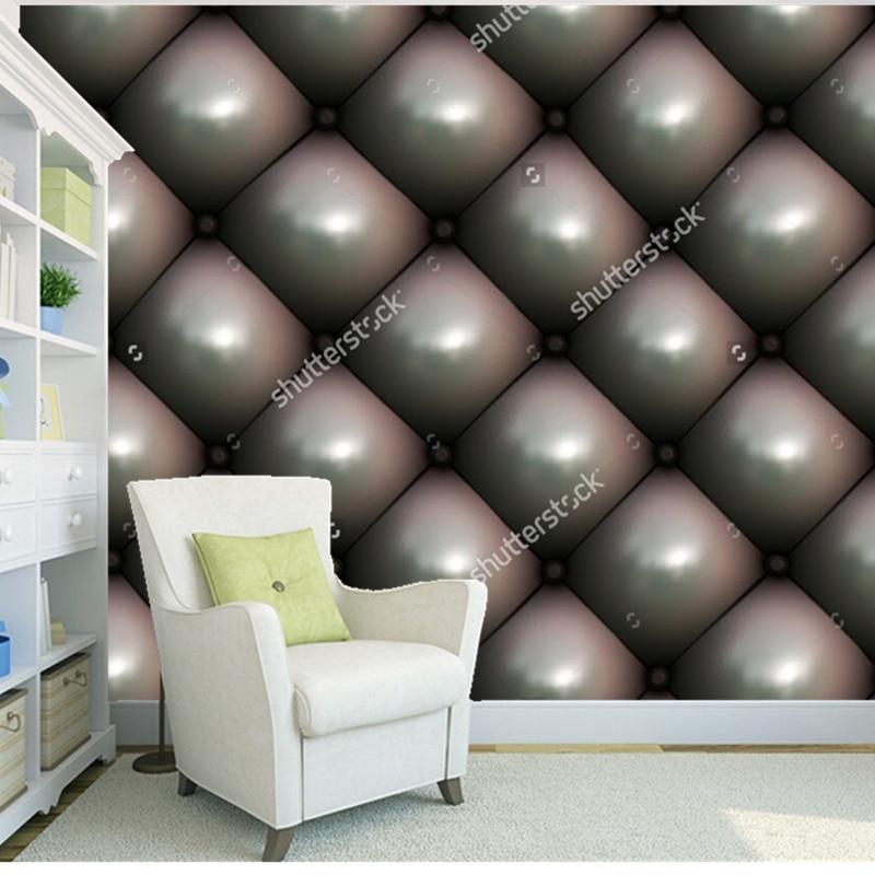 Custom europese behang leer 3d moderne muurschilderingen voor de woonkamer slaapkamer - Behang voor restaurant ...