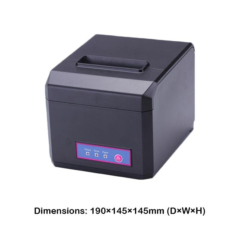 Sürətli 300mm / s sürətdə Wifi LAN USB Bluetooth POS 80mm Termal - Ofis elektronikası - Fotoqrafiya 6