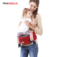 Baby Carrier New Fashion Cotton Ergonomic Design Infant Hip Seat Multifunction Toddler Sling Wrap Rider Baby Care BackpackBB3048