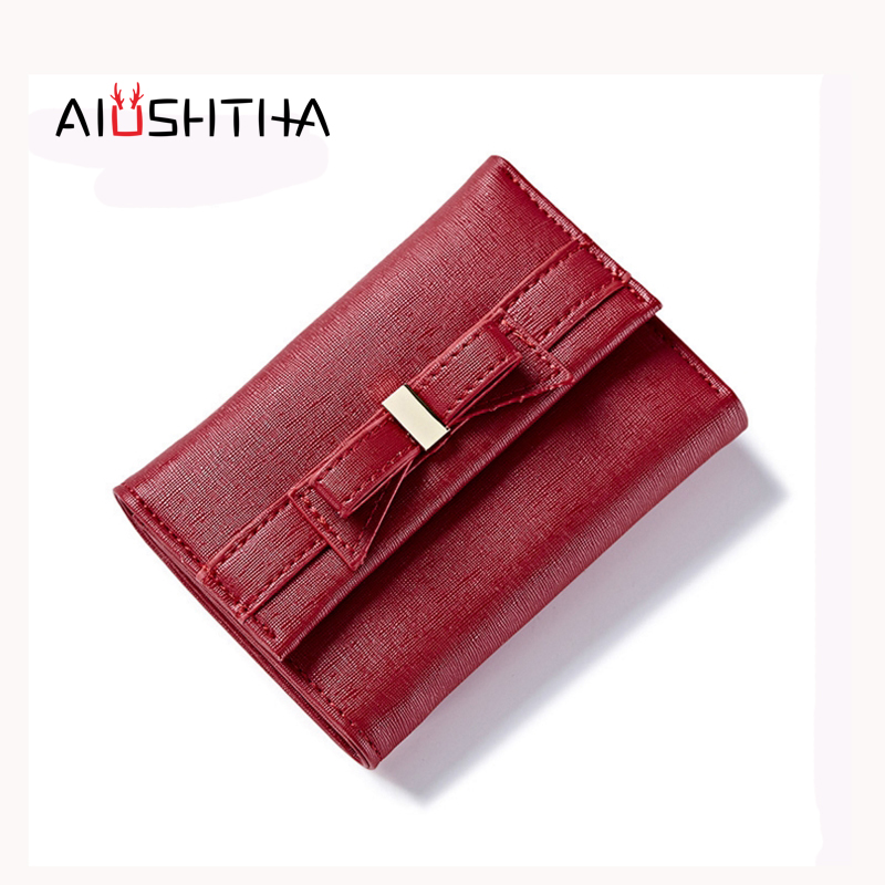 women wallets short purses for girls coin purse card holder money bags candy colors high quality fashion brand small mini red brand short wallet women lady small purse coin pocket hasp multifunctional mini wallets female money purses card holder girls
