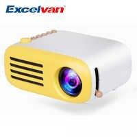 Excelvan YG300 YG310 Upgrade YG200 Mini LED Pocket Projector Home Beamer Kids Gift USB HDMI Video Portable Projector