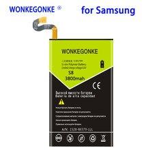 WONKEGONKE 3800 mah Bateria Para Samsung Galaxy S8 EB-BG950ABE G9550 Bateria