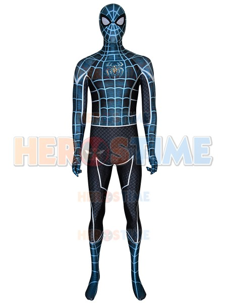 Peur elle-même Spider-Man PS4 jeux Cosplay Costume Spider-Man super-héros Costume Spandex impression 3D Spiderman Halloween Costume