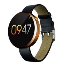 """DM360 Smart Uhr Bluetooth Herzfrequenz Fitness Tracker Pedometer 1,22 """"Ips-bildschirm Armbanduhr Smartwatch für Android iOS Telefon"""