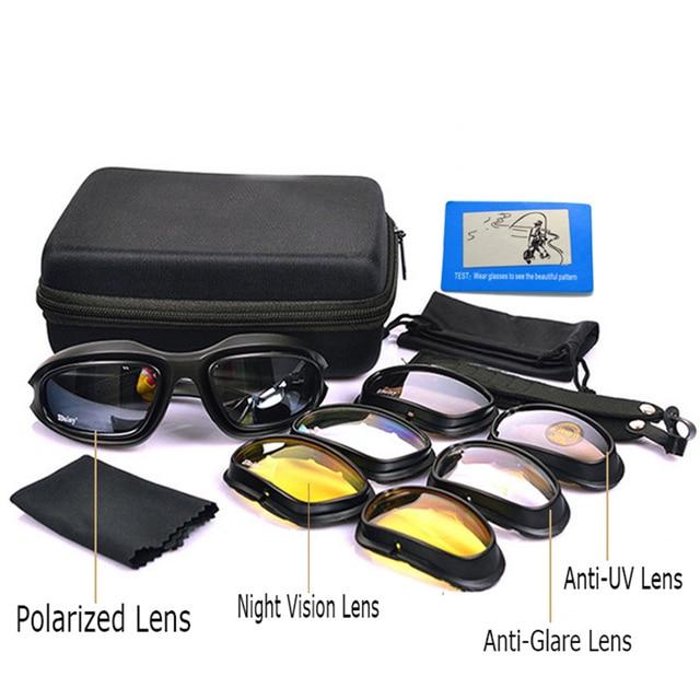 Margarida C5 Polarizada Óculos Óculos De Sol Dos Homens Do Exército Militar  Tempestade No Deserto dos 2fe93c5669