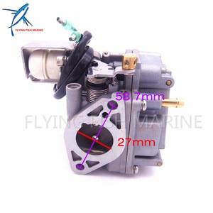 Image 5 - Outboard Engine Carburetor Assy 6AH 14301 00 6AH 14301 01 for Yamaha 4 stroke F20 Boat Motor Free Shipping