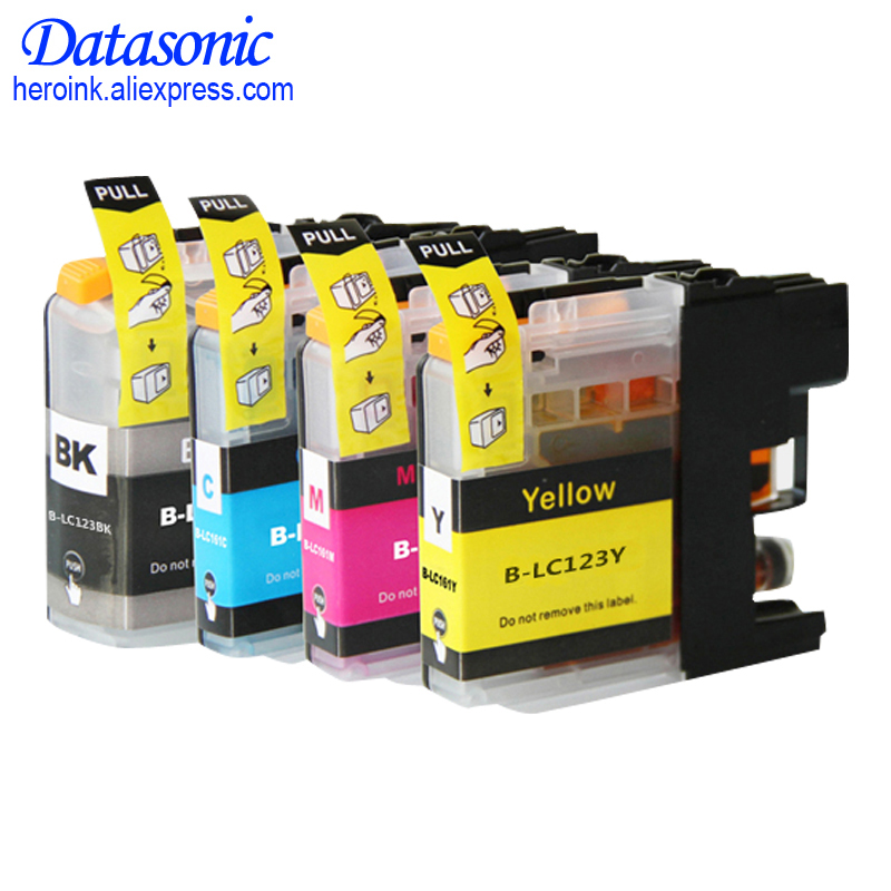 Cheap Products LC121 ink cartridge with chips For Brother Use printer DCP-J552DW/DCP-J752DW/MFC-J470DW/MFC-J650DW Inkjet Printer empty refillable ink cartridge lc123 lc127 lc125 for brother dcp j4110dw j132w j152w j552dw j752dw printer with chip