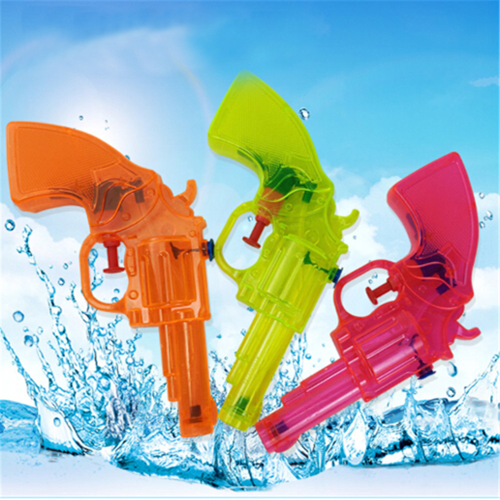Transparant Squirt Water Gun Summer Outdoor Toys Mini Summer Children Fight Beach Kids Blaster Toy =