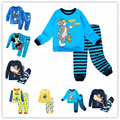 2016 clothes girls baby kids boys children clothing sets suits pajamas for boys 2 piece sleepwear home lovely