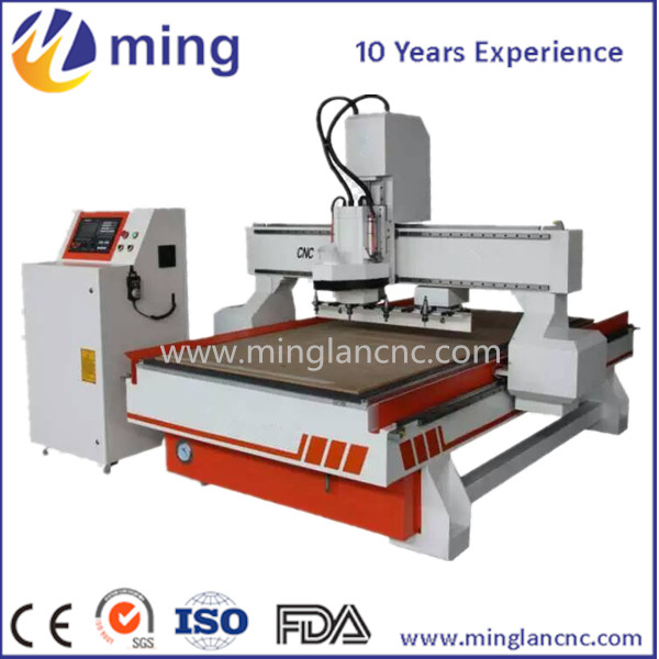 Imported machine parts cnc router 1325 with auto tool changer
