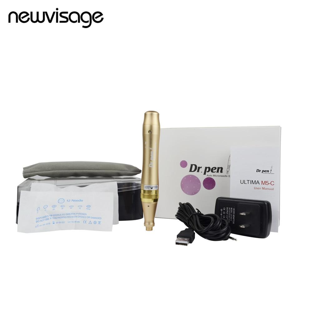 Dr. Pen ULTIMA M5C Derma Pen Permanent Makeup Electric Eyebrow Tattoo Pen Kit Body Art Eyebrow Eyeline Lip Liner Micro Needle