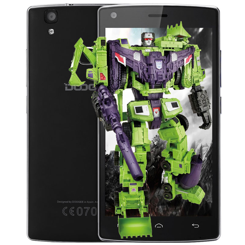 Original DOOGEE X5 MAX Pro 5 0 inch 4G Smartphone Android 6 0 MTK6737 Quad Core