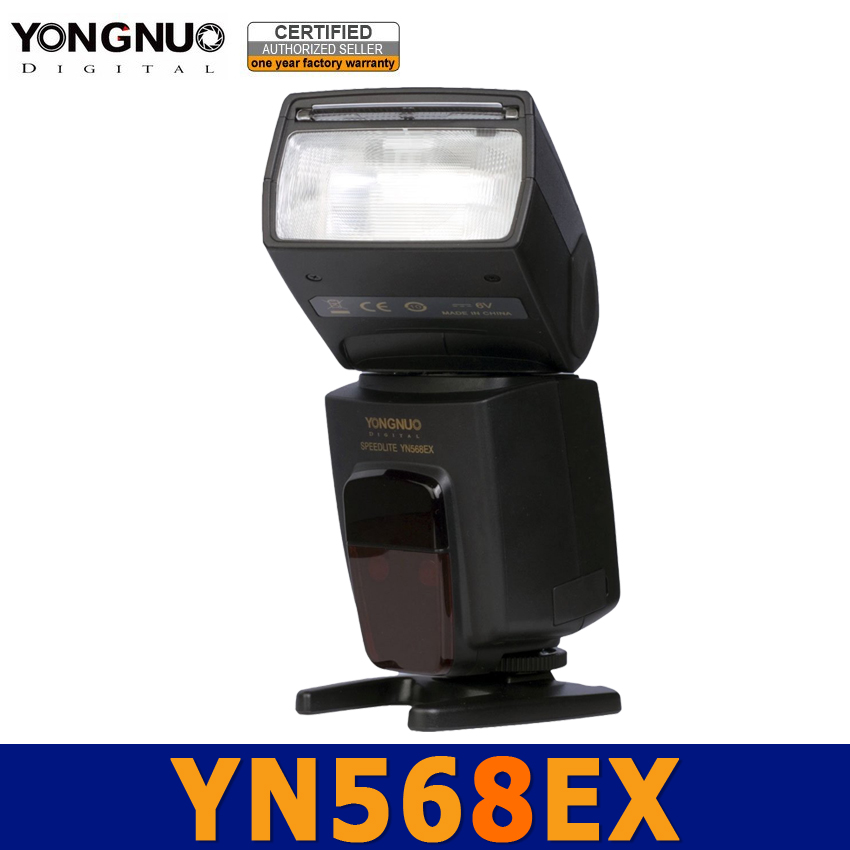 Yongnuo YN568EX YN568 EX Flash Speedlite Speedlight HSS TTL Auto 1/8000s for Nikon D700 D600 D200 D5000 D3100 D800 D3000 D90 D80 вспышка для фотоаппарата nikon speedlight sb 5000 sb 5000