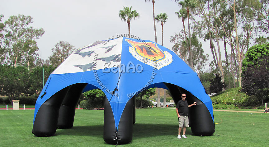 T039  Fashion Design Advertising Inflatable air tight  Tent/house/spider   Inflatable party tent Outdoor events tent 6x3mh inflatable spider tent advertising inflatable tent inflatable party tent outdoor events tent