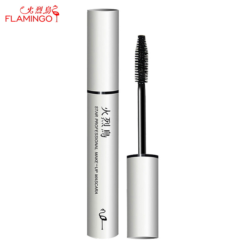 Flamingo Marque Star Professionnel Mascara curling thicking étanche pas touffes anti-maculage mascara Mascara Allongeant 6017