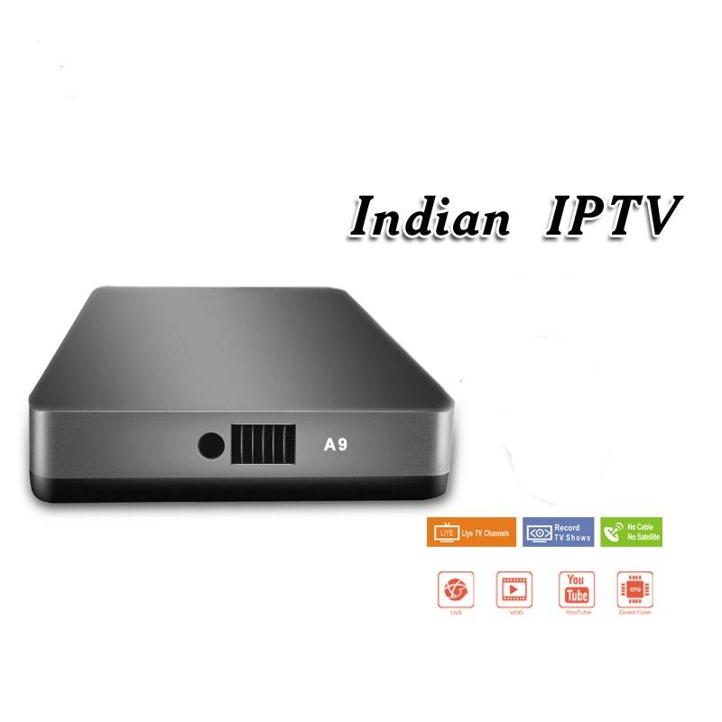Smart Android TV Box prend en charge 12 mois d'abonnement IPTV des chaînes indiennes/Punjabi/enfants/régionales/pakistanaises et des films Vod-in Décodeurs TV from Electronique    2