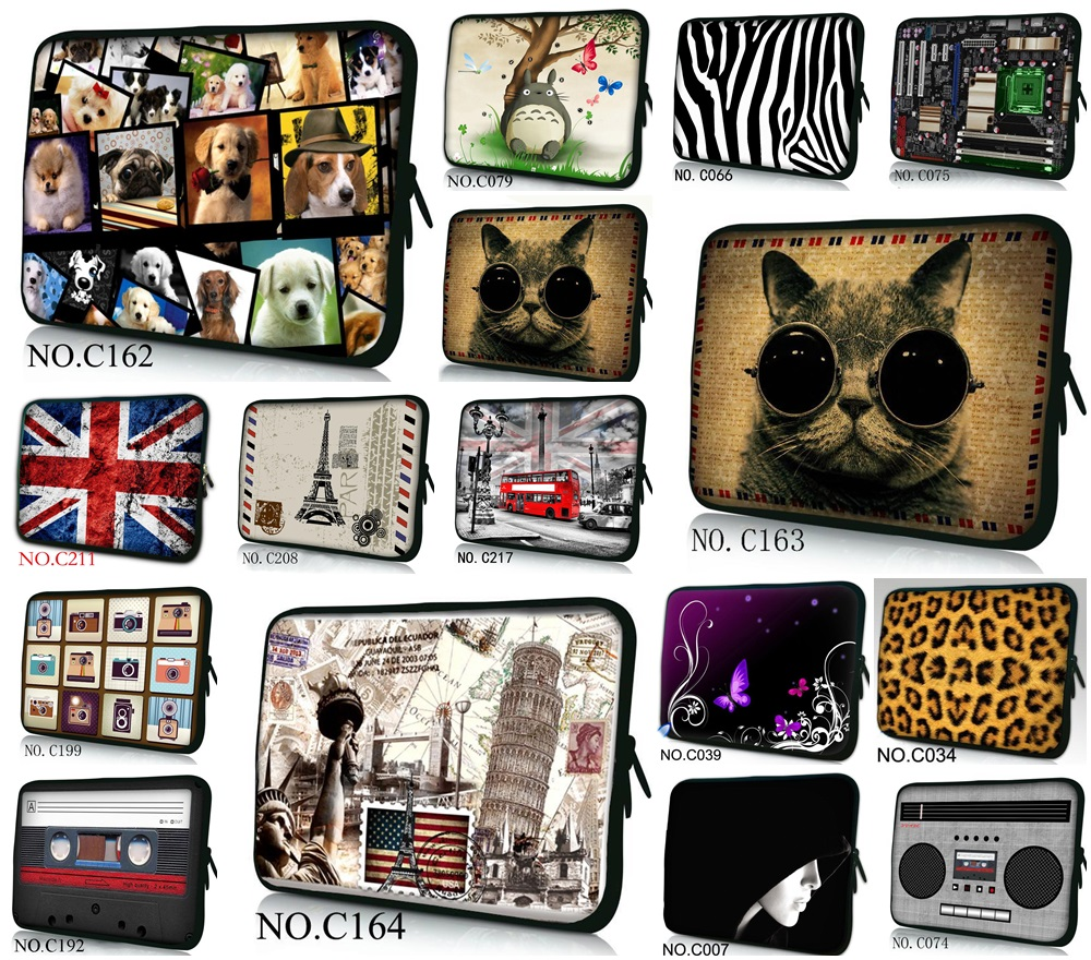 Waterproof Laptop Sleeve Bag Notebook Case Handbag For iPad Macbook Tablet PC 9.7 11.6 13 14 15 15.6 17 inch Womens Mens Kids