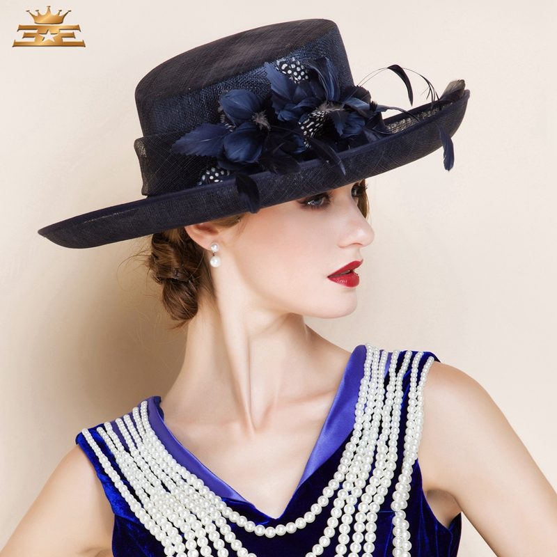 b88aba72cbc50 Ladies  Lovely Spring Summer Cambric With Bowler Cloche Hat Women s Summer  new fashion hat for women1075-in Women s Fedoras from Apparel Accessories on  ...