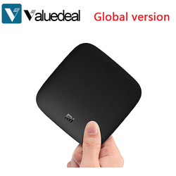 Global Xiaomi Mi Box 3 Media Player Android 6.0 TV Box 2G/8G Dual WiFi Smart TV IPTV Set Top Box within remote control
