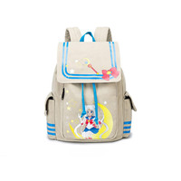 Anime Cosplay Backpack Cartoon Sailor Moon Bag Adult Women Girl Shoulder Bag Travelling Bag Cute Kawaii Print Canvas School Bag