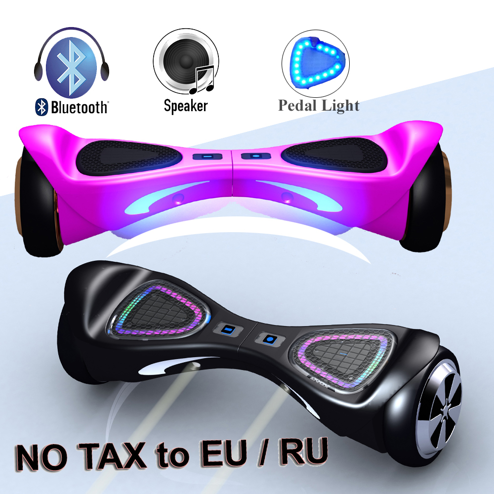 new led lights on pedal hoverboard bluetooth balance board. Black Bedroom Furniture Sets. Home Design Ideas