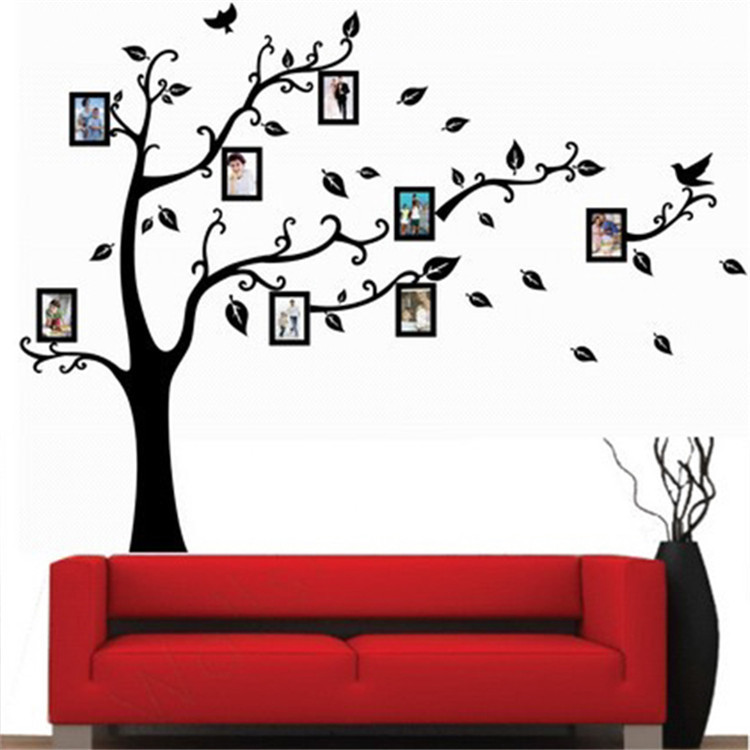New Fashion Family Tree Wall Decal Remove Wall Stick Wall Stickers   Vinyl Wall  Decals Removable