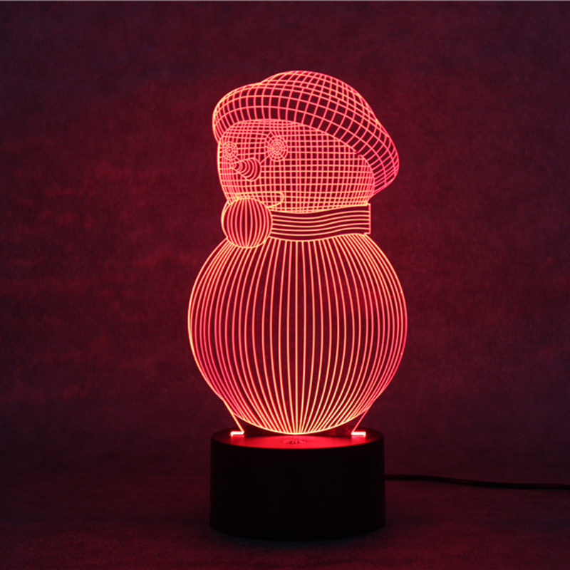 Led Baby 3d Night Lights Usb Nightlights Boys Girls Gift