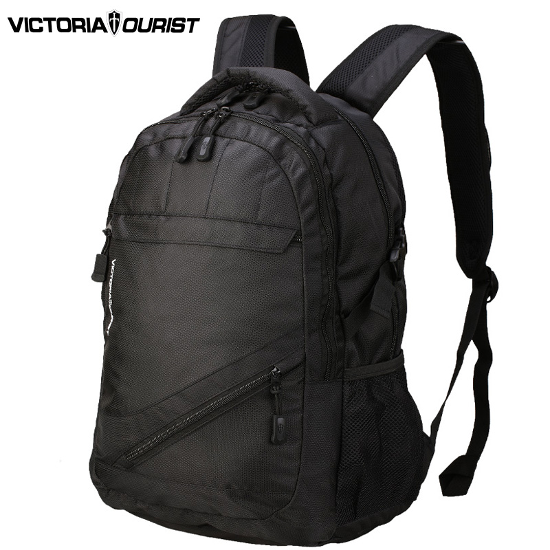ФОТО Victoriatourist 15 inch laptop backpack men/ 2016 England style backpacks for men/ leisure back pack /V8001 black and green