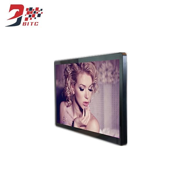 21.5 Inch Thông Minh TV Màn Hình CCFL LED Phương Tiện Truyền Thông Màn Hình Hiển Thị Bảng Điều Chỉnh Trong Nhà Máy Nghe Nhạc QUẢNG CÁO Tất Cả trong Một PC