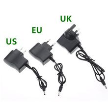 1pcs LED Power supply Adapter AC110-240V 0.5A EU/US/UK Plug Car Charger For 18650 Battery Flashlight Headlamp Converter Adapter