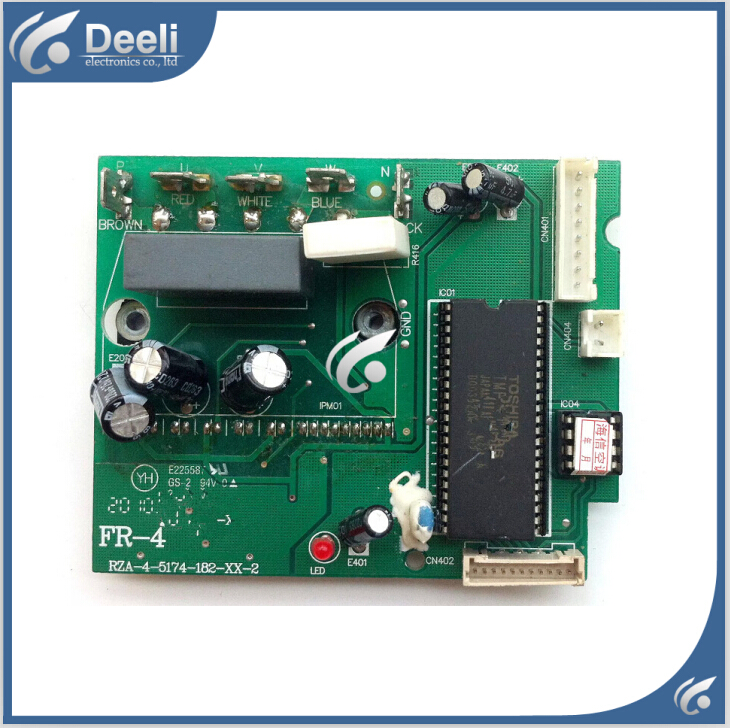 95% new good working for air conditioning Computer board RZA-4-5174-182-XX-2 power module good working цена и фото