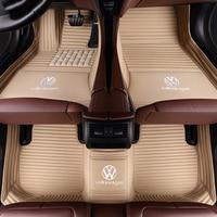 Пользовательские автомобильные коврики для vw Volkswagen Жук Touareg Tiguan Phaeton vw EOS Magotan Scirocco Multivan sharan вариант