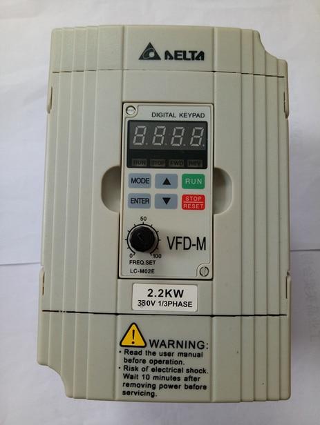 VFD M VFD Inverter VFD022M43B 2 2KW 380V 3PHASE waranty 1 year