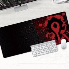 Gaming Mouse pad Speed Locking Edge Large Natural Rubber Waterproof Game Desk Mousepad Mat for Dota LOL World of Warcraft