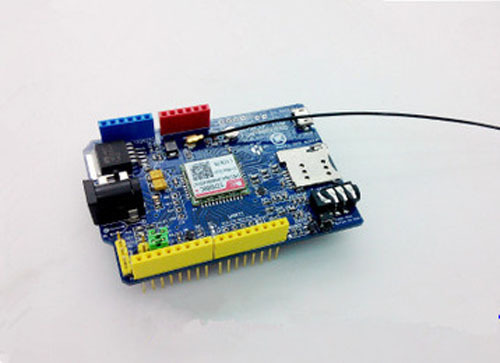 2pcs/lot SIM800c Shield Development Board For Arduino Instead Of SIM900 Module GPRS GSM 4 Frequency Available