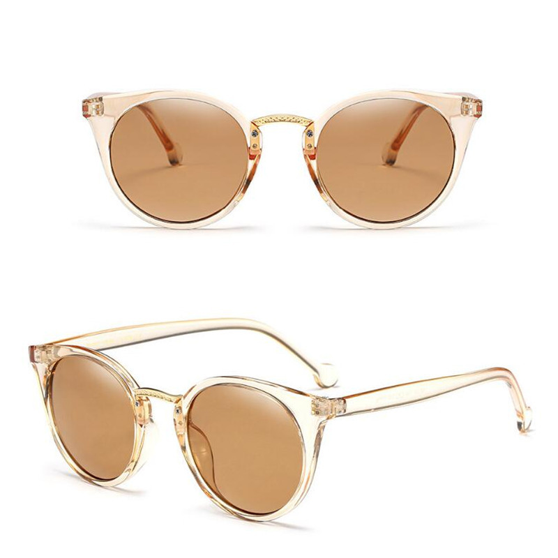 KESMALL Sunglasses Women Fashion Google Sun Glasses UV400 Clear Lens Eyeglasses Frame Oculos De Sol Brand Design Eyewear YJ1015