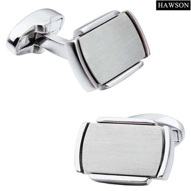 Classical Rectangle Pattern Men Jewelry Cuff Links  Cuff For Wedding Dress Wholesale