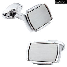 Classical Rectangle Pattern Men Jewelry Cuff Links Cuff For Wedding Dress Wholesale(China)