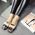 Мода женская обувь удобные плоские туфли Новое прибытие-A2299-7 Балетки обувь большого размера обуви квартир Женщин
