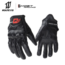 Motorcycle Gloves Genuine Leather Gloves Motorcycle Touchscreen Gloves Motorcycle Racing Downhill Cycling Riding Guantes Moto цена 2017