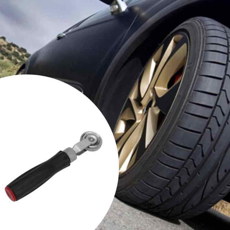 Taşınabilir oto araba lastik tamir aracı Metal sıkıştırma silindiri kauçuk saplı otomobiller lastik tamir araçları