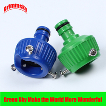 Garden Water Hose Tap Connectors Round Tap Connectors Water Tap Universal Connector garden water connectors palisad 66425 splitter plastic round tap connectors