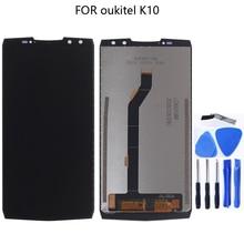 OUKITEL ため K10 100% オリジナル新液晶ディスプレイ OUKITEL K10 液晶 + タッチスクリーンタブレット画面コンポーネントの交換 6.0 インチ