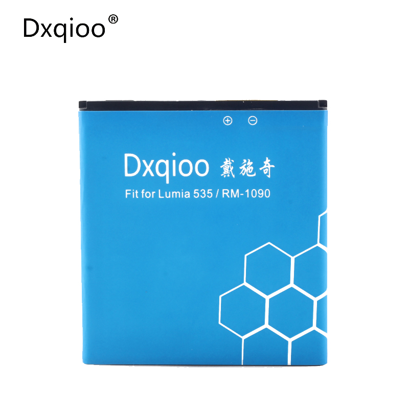 Dxqioo BL-L4A battery fit for nokia lumia 535 RM1090 batteries