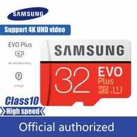 SAMSUNG micro sd 32GB 64GB 128GB 256GB Class10 mémoire micro sd SDXC U3 UHS-I TF carte Trans Flash 4K HD téléphone portable carte mémoire