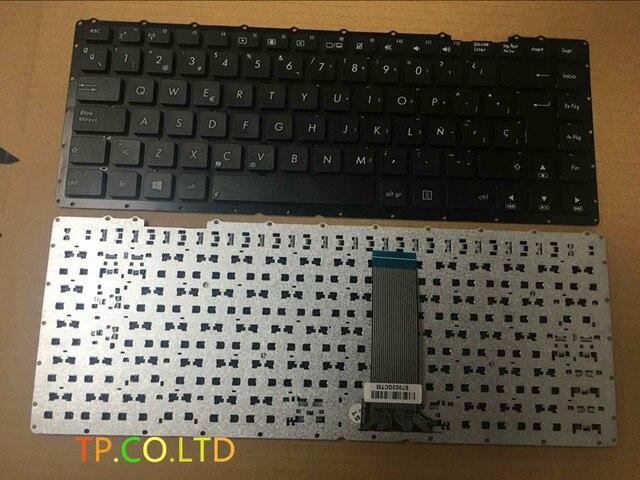 SP Испанский Клавиатура Ноутбука Замены для ASUS X451X451CA X451MA ЧЕРНЫЙ Cuaderno de teclado Ремонт Ноутбук Клавиатуры