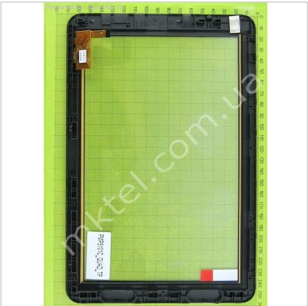 10.1 Touch Screen Digitizer for Prestigio PMP5101C_QUAD 12pin free shipping via Post with tracking#